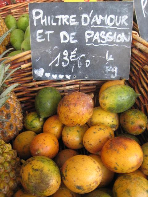 La passion et le marché
